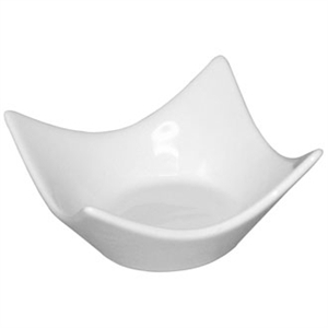 Olympia Whiteware Modular Miniature Raised Corner Bowl - 36x72x72mm (Box 12)