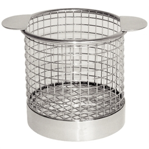 Olympia Chip basket Round with Ears 80mm