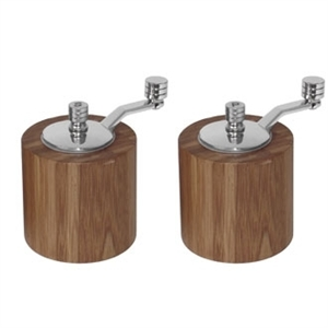 Bamboo Salt & Pepper Mill - Grinder Set