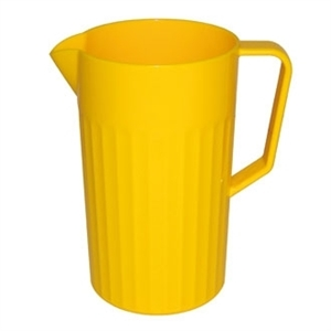 Kristallon Polycarbonate Jug Yellow 1.4Ltr (Sold Single)