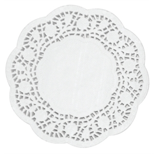 Paper Doily Round 12in (Box 250)