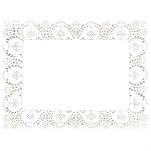 Paper Doily Rectangular (Box 250)