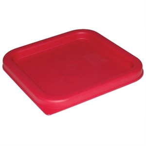Square Lid Red Small 1.5-3.5L