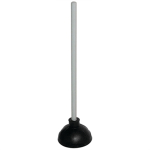 Plunger With Wooden Handle