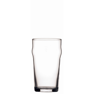 Arcoroc Nonic Nucleated Beer Glasses 570ml CE Marked (48pc)