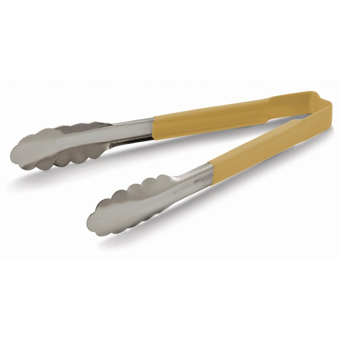 Vollrath Tan Utility Grip Kool Touch Tong 241mm