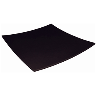 """Curved Square Melamine Plate 305mm (12"""") (Sold Single)"""