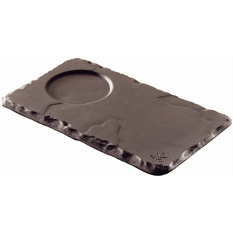 Revol Basalt Saucers with Indents 140mm (Box 6)