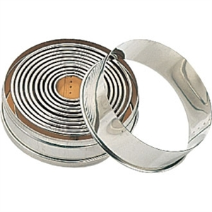 Round Plain Pastry Cutter Set