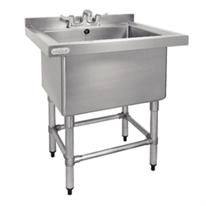 Vogue St/St Deep Pot Sink - 770mm (w) x 600mm (d)