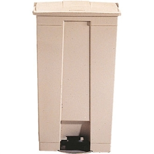 Rubbermaid Step-On-Container 87Ltr Beige