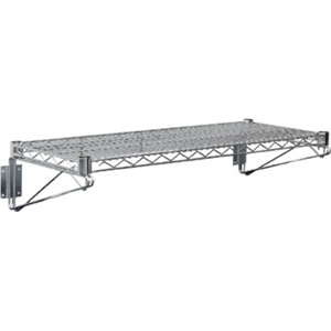 Wire Wall Shelves incl end brackets - 610x360mm