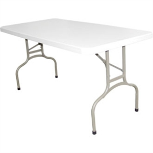 Bolero Foldaway's Utility Table 5ft Long