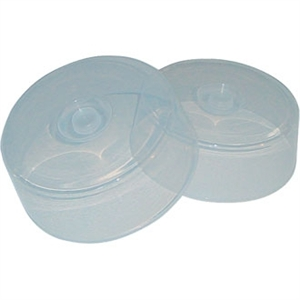 Microwave & Freezer Proof Plate Covers 2 per pack 12''