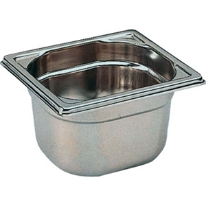 Bourgeat Stainless Steel 1/6 Gastronorm Pan 150mm