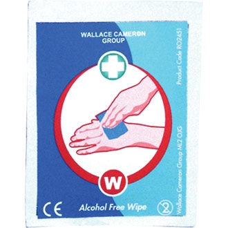 Alcohol Free Wipes (Box of 100)