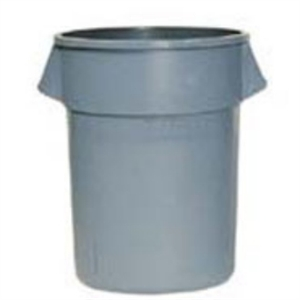 Rubbermaid Round Brute Container Grey - 75Ltr