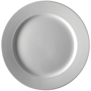 Olympia Linear Wide Rimmed Plate 250mm (Box 12)
