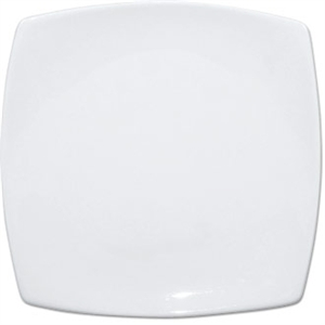 Olympia Whiteware Rounded Square Plate - 18.5cm 7 1/2 (Box 12)