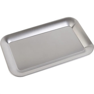 Stainless Steel Rectangular Service Tray 215mm