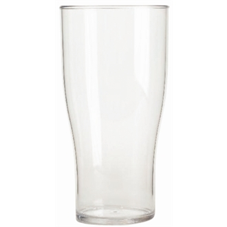 Polycarbonate Nucleated Beer Glasses 285ml CE Marked Half Pint (48pc)
