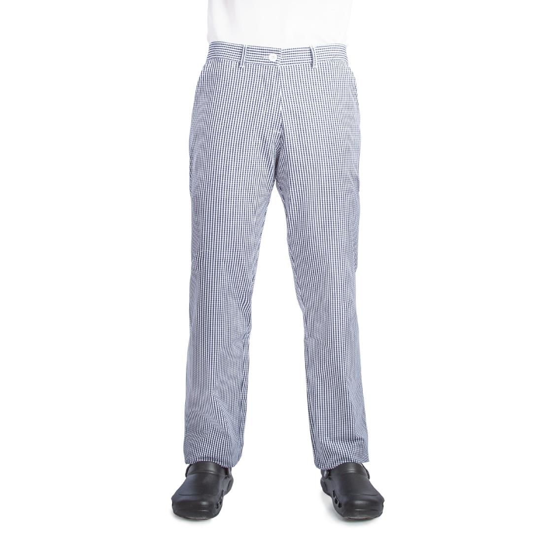 Whites Ladies Chef Trousers Blue And White Check