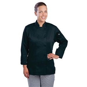 Chef Works Marbella Womens Executive Chefs Jacket Black
