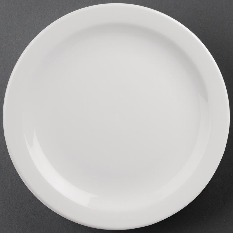 Athena Hotelware Narrow Rimmed Plate 284mm ( Box 6)