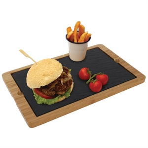 Olympia Wooden Base for Slate Platter 330 x 210mm