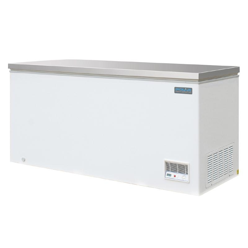 Polar Chest Freeze with Stainless Steel Lid 462Ltr