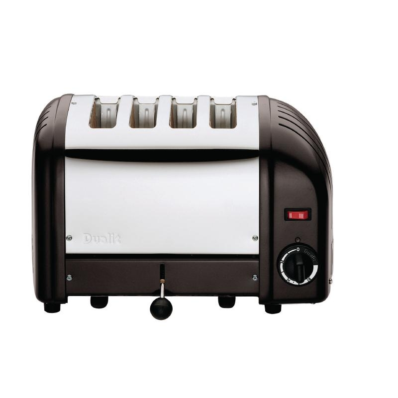 dualit 4 slot bread toaster dualit toasters cooking. Black Bedroom Furniture Sets. Home Design Ideas