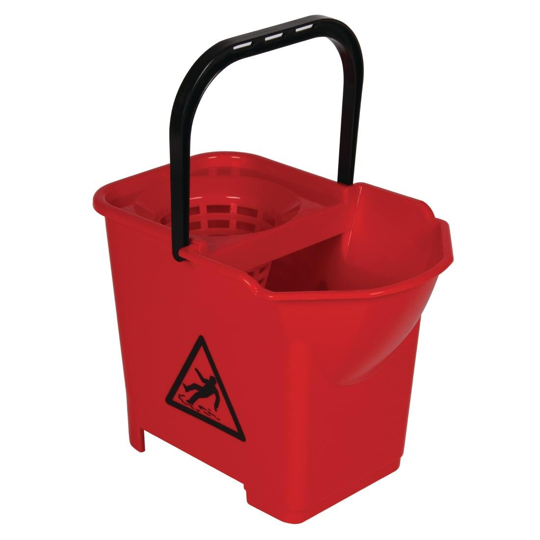 Jantex Colour Coded Mop Bucket Red