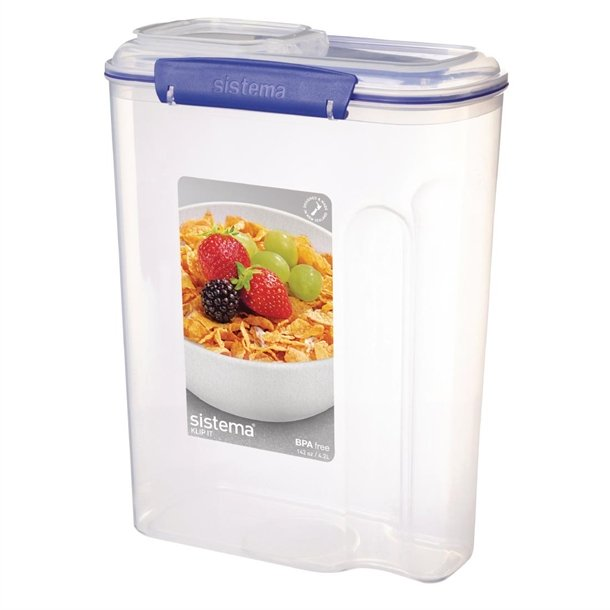 Klip It Cereal Container Large 4.2Ltr