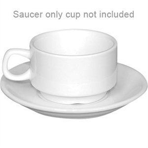 Stacking Espresso Saucer - Fits 85ml Stacking Espresso Cups CB471 (Box 12)
