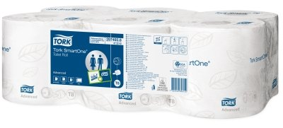 Tork Smart One Toilet Paper Roll 6per case