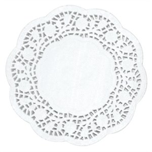 Paper Doily Round 6.5in (Box 250)