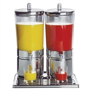 APS Stainless Steel Juice Dispenser Double