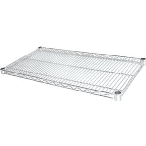 Vogue Chrome Shelves - 457x915mm incl 8 pairs of clips (Pack 2)