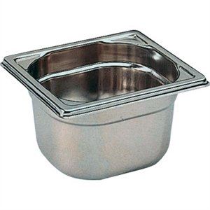 Bourgeat Stainless Steel 1/6 Gastronorm Pan 200mm