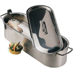 """Fish Kettle 18"""". Stainless steel"""