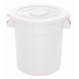 Vogue White Round Container Bin Large 76Ltr