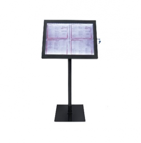 Securit LED Info Display Unit Black