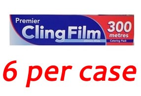 "Premier Cling Film 18"" (6 per case)"