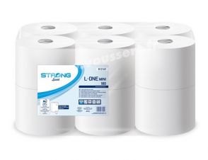 Lucart L-One Mini White Toilet Paper