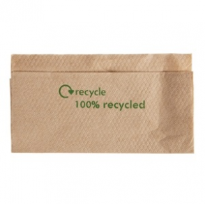 Recycled 1-ply Kraft Napkins (Box 6000)