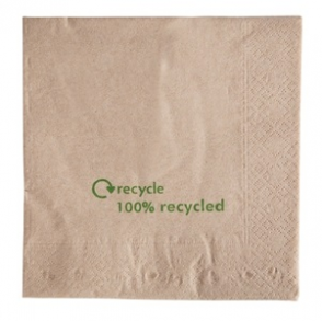 Recycled 2-ply Kraft Napkins (Box 2000)
