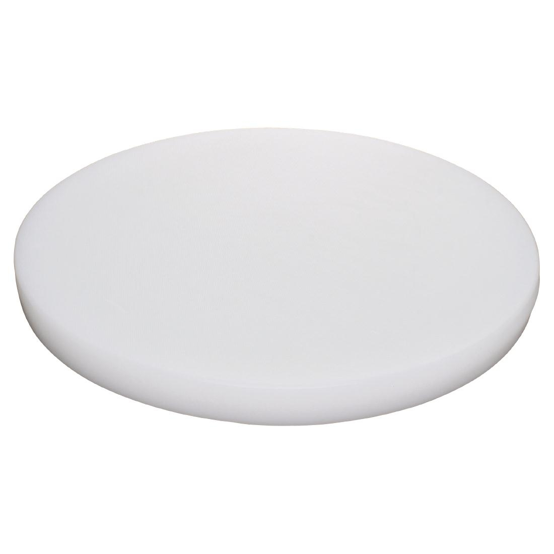 Hygiplas Round Chopping Board White 360mm