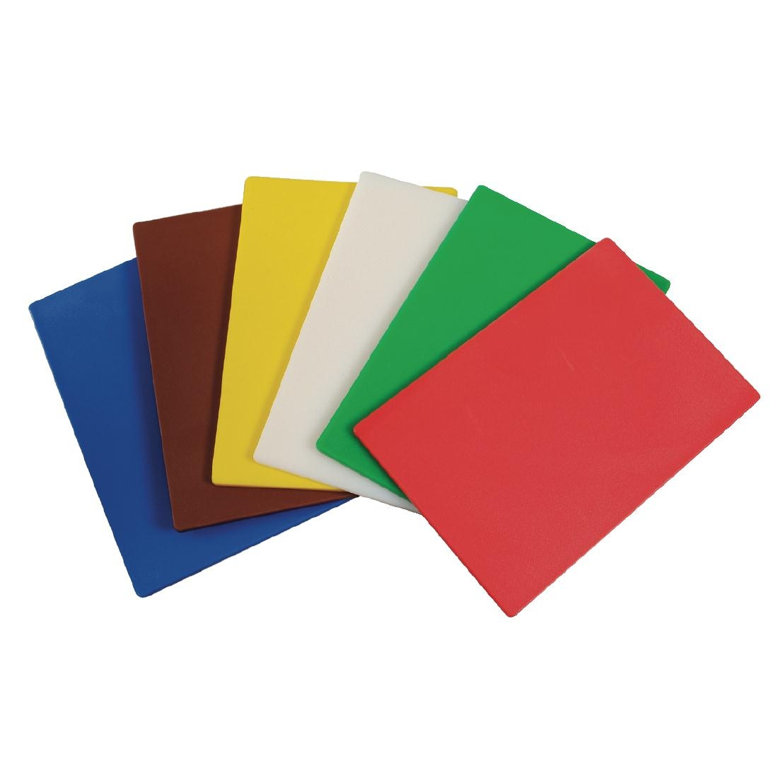 Hygiplas Colour Coded Chopping Mats Set 300mm
