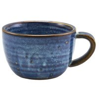 Terra Porcelain Aqua Blue Coffee Cup 28.5cl/10oz