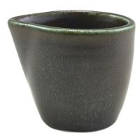 Terra Porcelain Cinder Black Jug 9cl/3oz